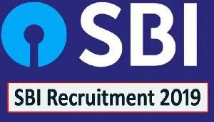 SBI में निकली सैंकड़ों पदों की भर्ती, नहीं देनी कोई आवेदन कोई फीस