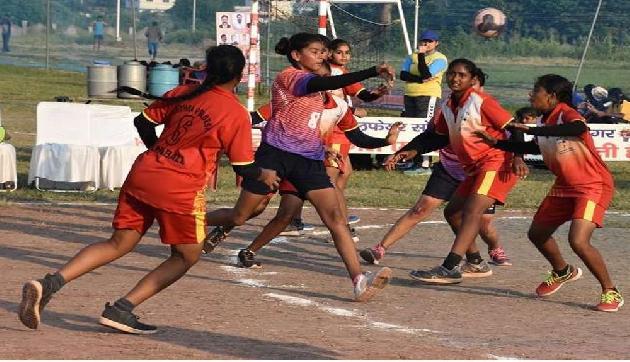 Handball Championship ःइन राज्यों ने दी असम और मणिपुर को मात