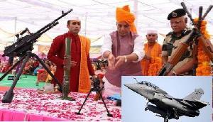 जानिए भारतीय सेना दशहरा पर क्यों करती है शस्त्र पूजा, आज भारत को मिला ये ब्रह्मास्त्र