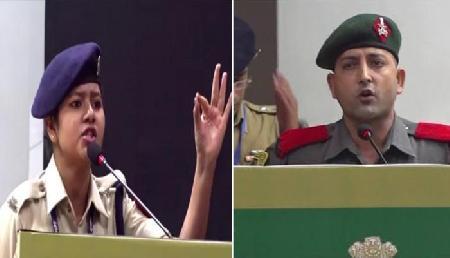 CRPF कॉन्स्टेबल खुशबू चौहान को असम राइफल जवान का जवाब, 'बहादुरी मारने में नहीं बचाने में'