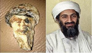 OMG! समुद्र किनारे मिला आतंकी ओसामा बिन लादेन का 'चेहरा', सब हुए हैरान