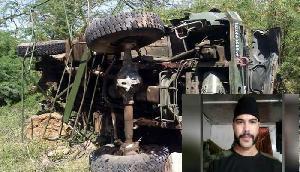असम में ट्रक से भिड़ा पेट्रोलिंग करता हुआ सेना का जवान, हुआ ये हाल