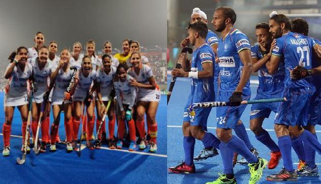 भारतीय पुरुष और महिला हॉकी टीम का धमाका, इस मंत्री ने Tweet  कर दी ढेर सारी बधाई