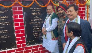 राजनाथ सिंह ने दी सिसेरी पुल की सौगात, अब चीन को मुंहतोड़ जवाब दे सकेंगे भारतीय सैनिक
