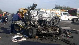 दो फुटबाॅलरो की सड़क दुर्घटना में मौत, इस तरह घटी घटना