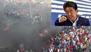 जापान तक पहुंची असम के हिंसक प्रदर्शनों की आग, PM शिंजो आबे ले सकते हैं ये बड़ा एक्शन
