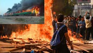 नागरिकता कानून पर जल उठा आसाम, भीड़ ने की यात्रियों से भरी ट्रेन को आग लगाने कोशिश