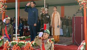 मेघालय में धूमधाम से मना गणतंत्र दिवस, CM कोनराड संगमा ने शान से फहराया तिरंगा, देखें तस्वीरें
