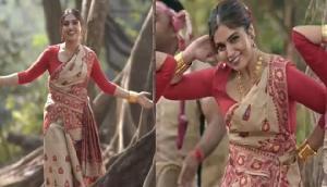 एक्ट्रेस भूमि पेडनेकर ने असमिया ड्रेस पहनकर मचाया तहलका! ये वायरल वीडियो देख हो जाएंगे दीवाने