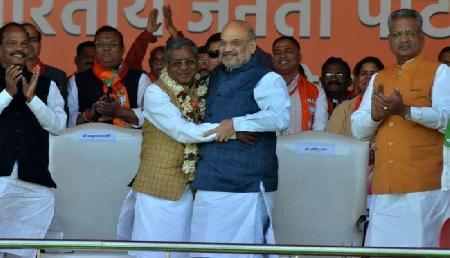 14 साल बाद भाजपा में फिर शामिल हुए थे ये नेता, अमित शाह देंगे ऐसी जिम्मेदारी, उड़ेंगे विरोधियों के होश