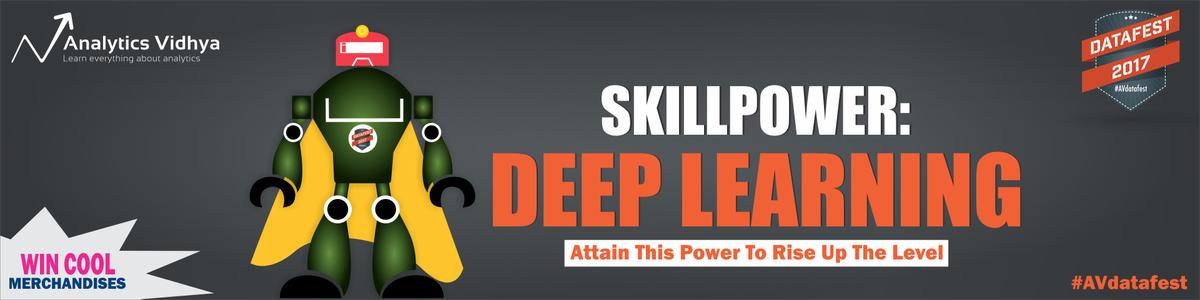 Cover image for #AVdatafest SkillPower: Deep Learning