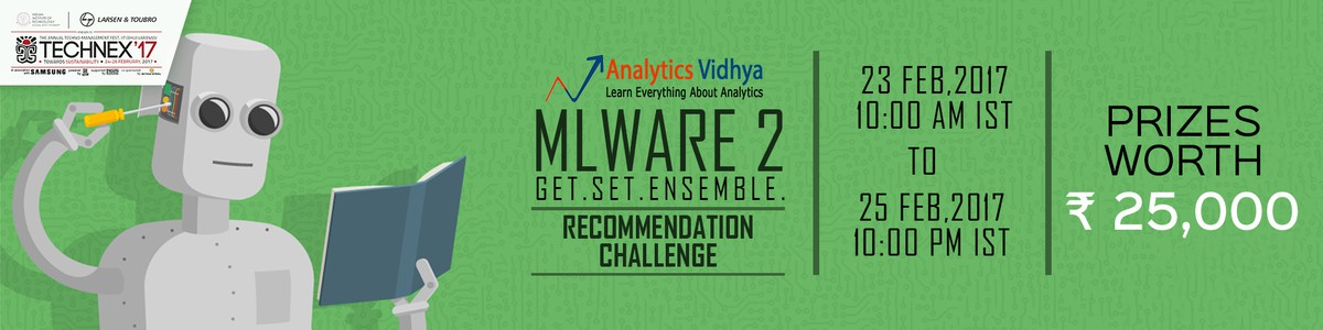 Cover image for MLWARE 2 - Recommendation Challenge