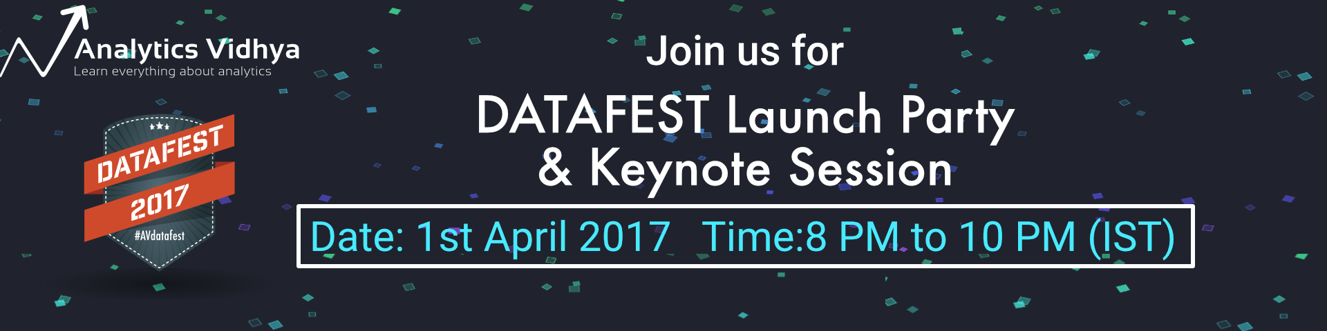 Cover image for #AVdatafest Launch Party & Keynote Session