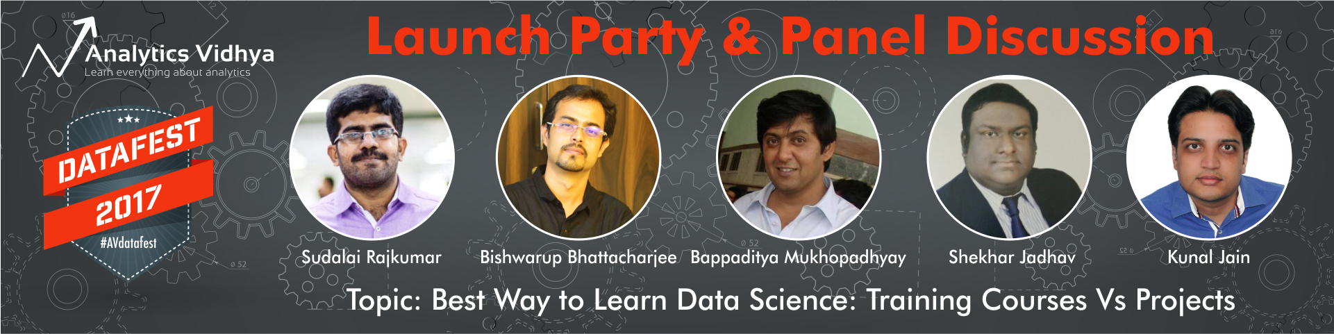Cover image for #AVdatafest Launch Party & Panel Discussion