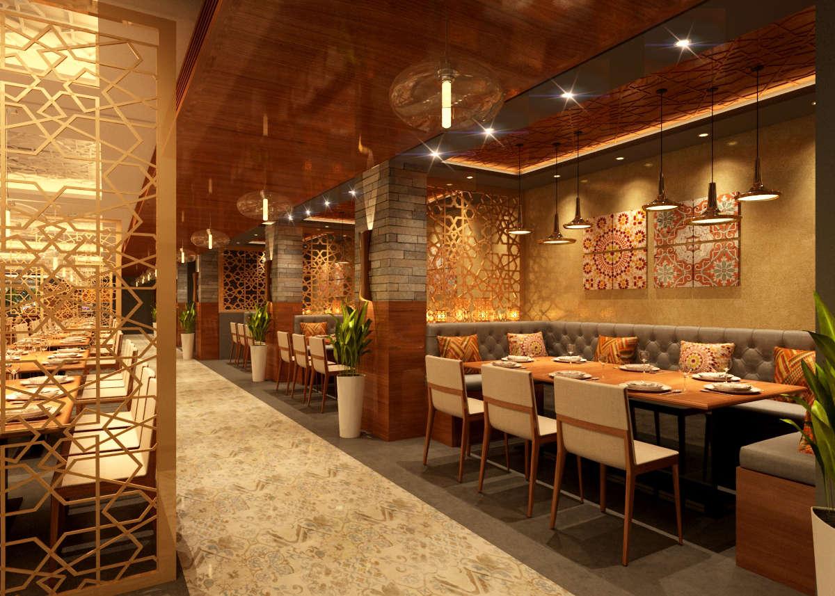 Restaurant interiors at urapakkam chennai