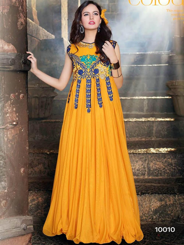 10010 Mango Wedding Wear Gown