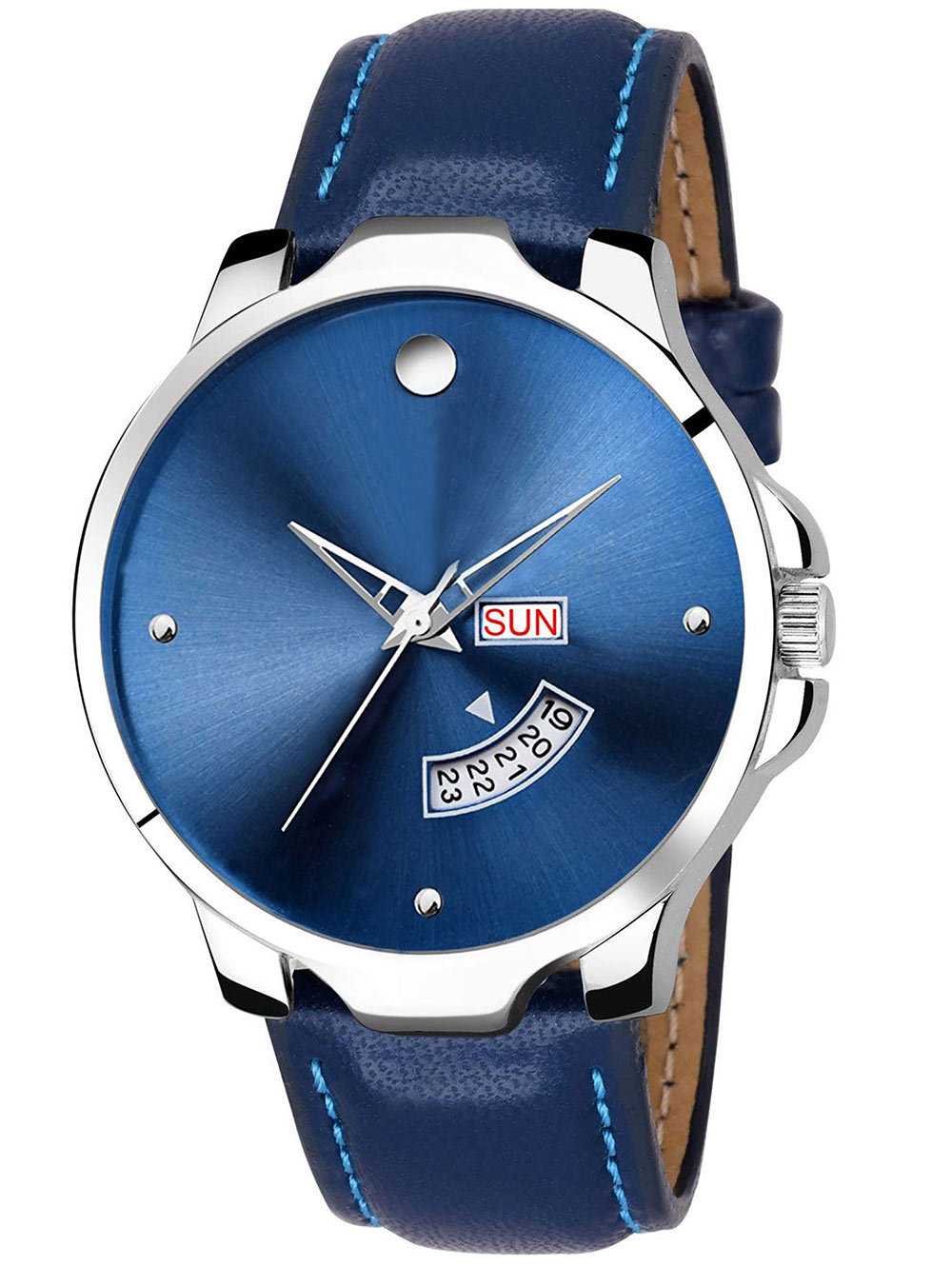 FX471 Blue Band Analogue Mens Watch