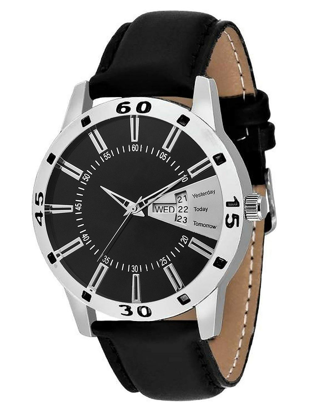 FX472 Black Band Analogue Mens Watch