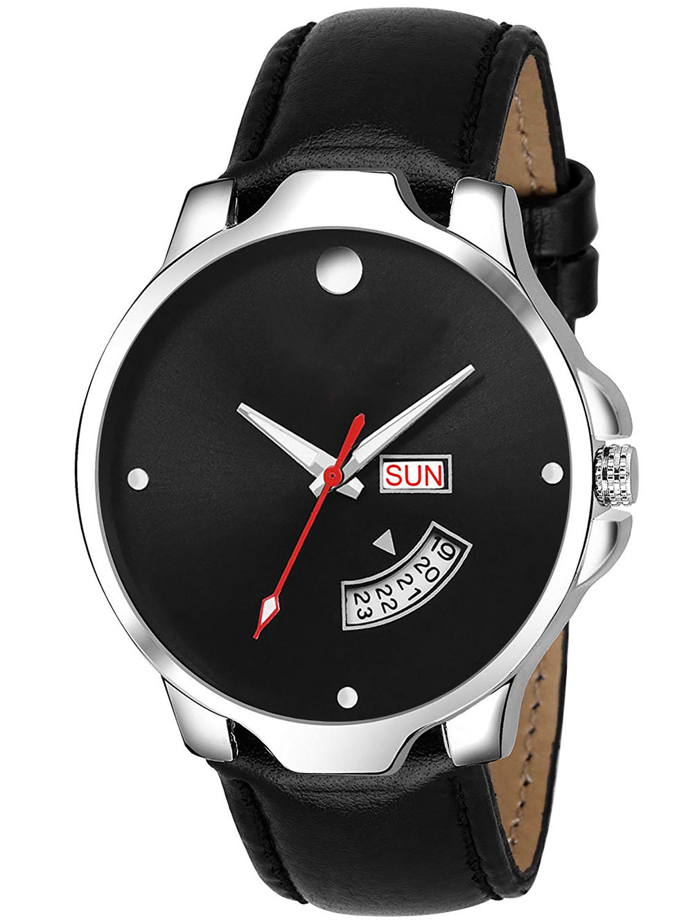 FX470 Black Band Analogue Mens Watch