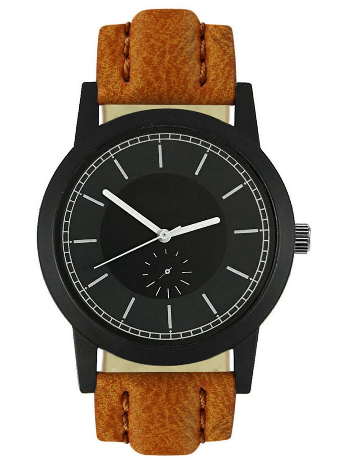 FX417 Brown Band Analogue Mens Watch