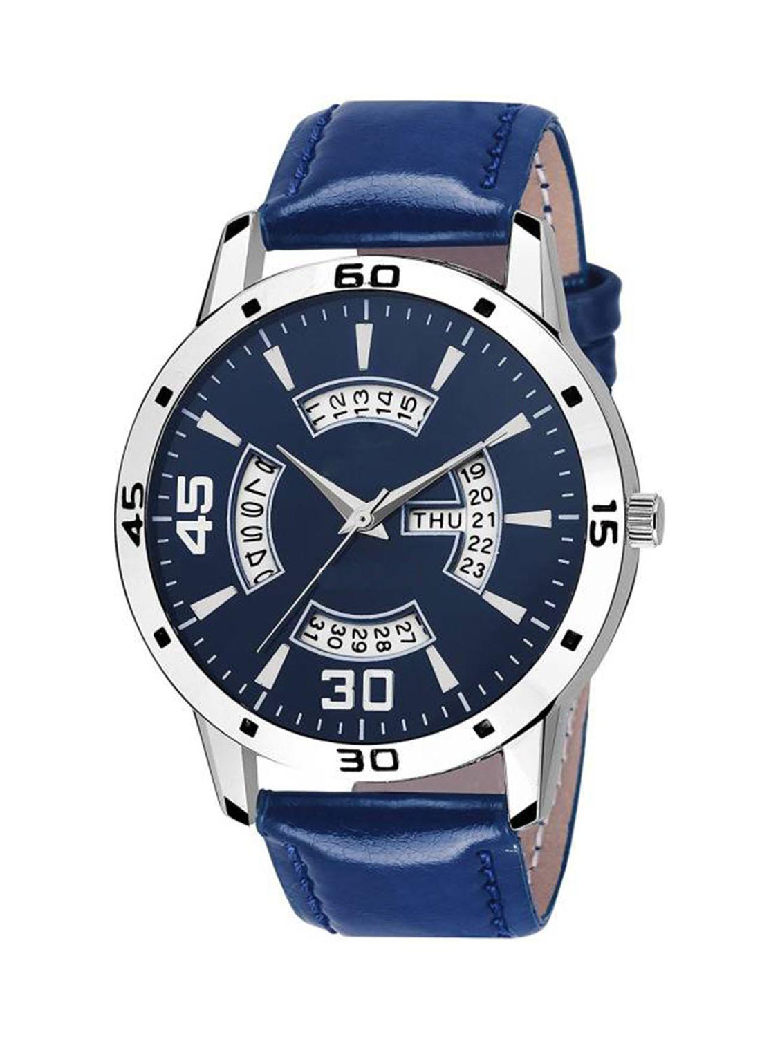 FX435 Blue Band Analogue Mens Watch