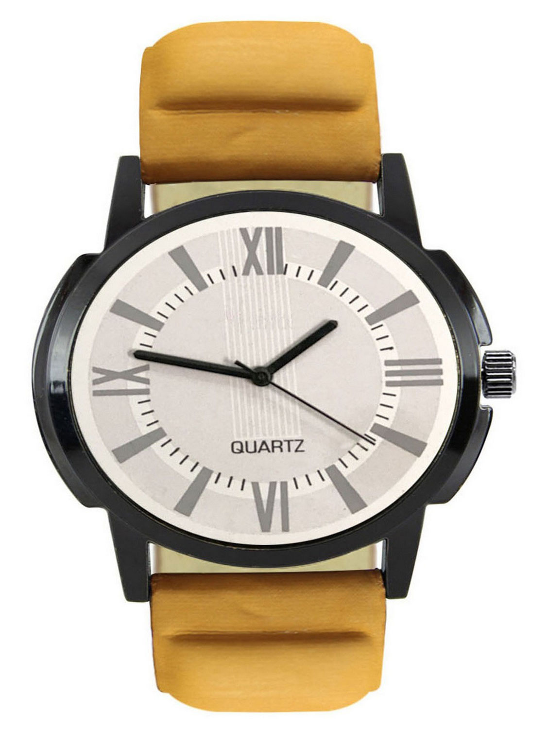 FX419 Beige Band Analogue Mens Watch