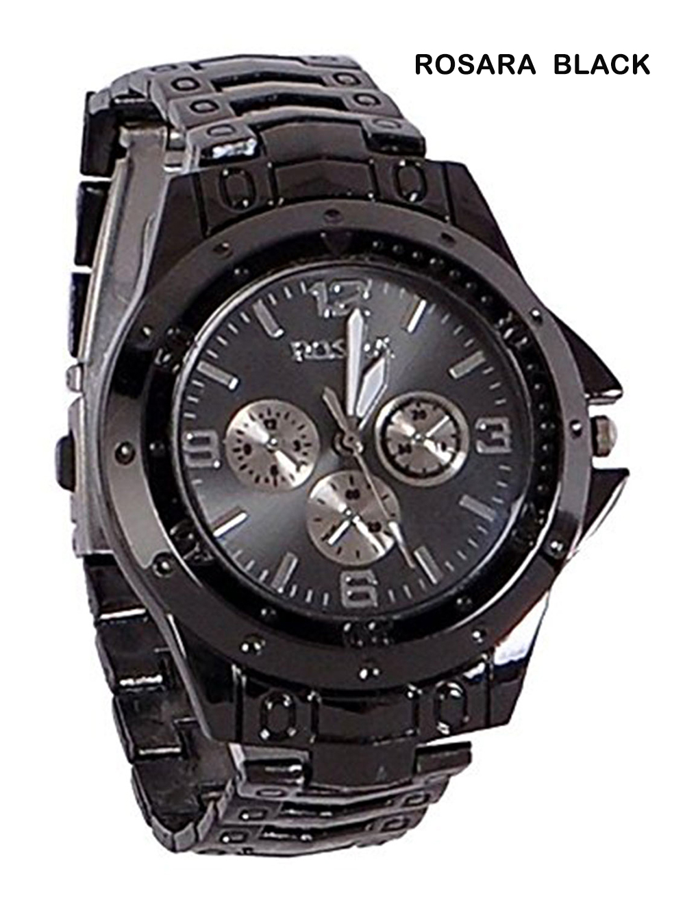 FULL BLK Analogue Mens Watch