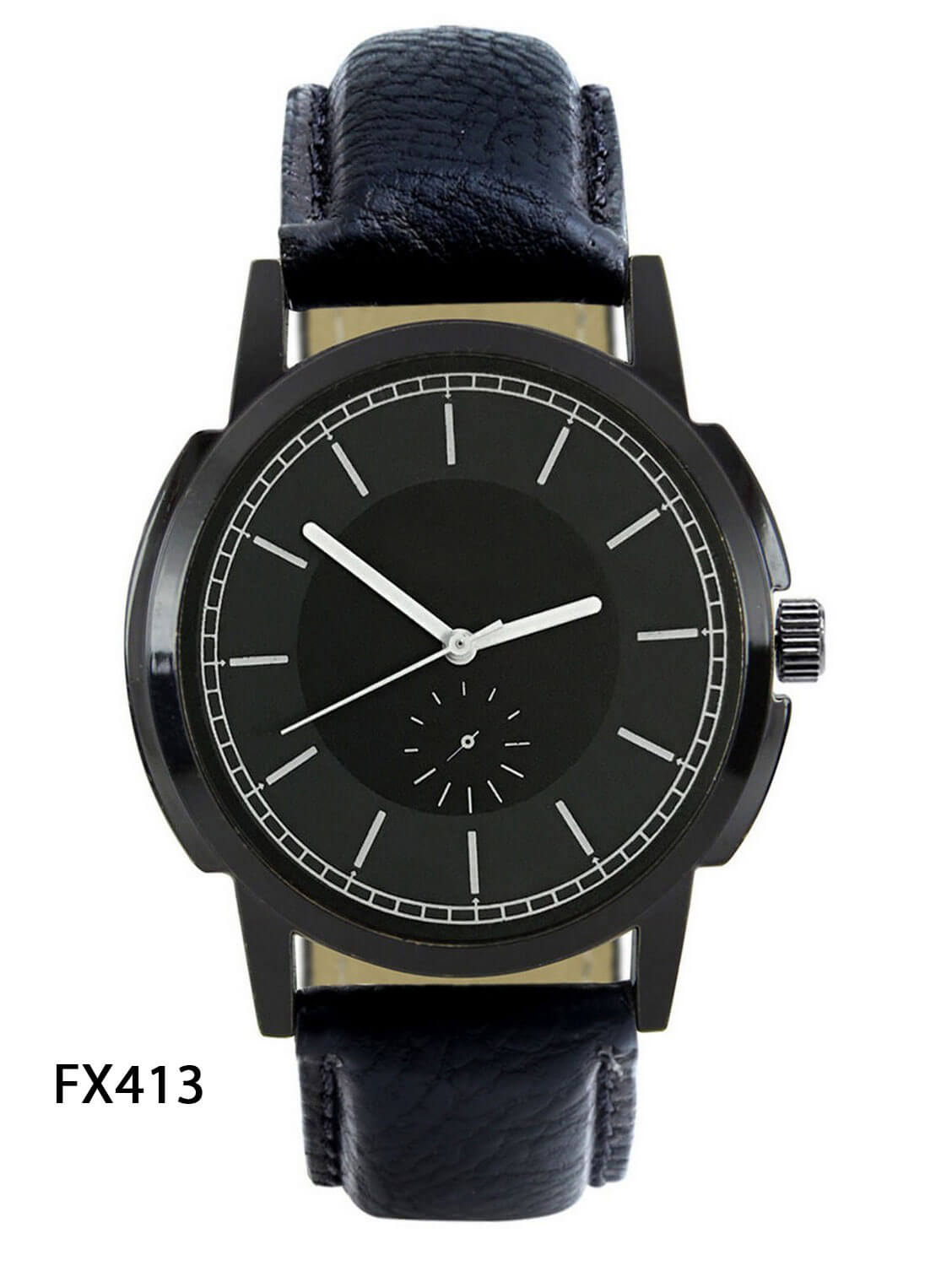 FX413 Black Band Mens Watch