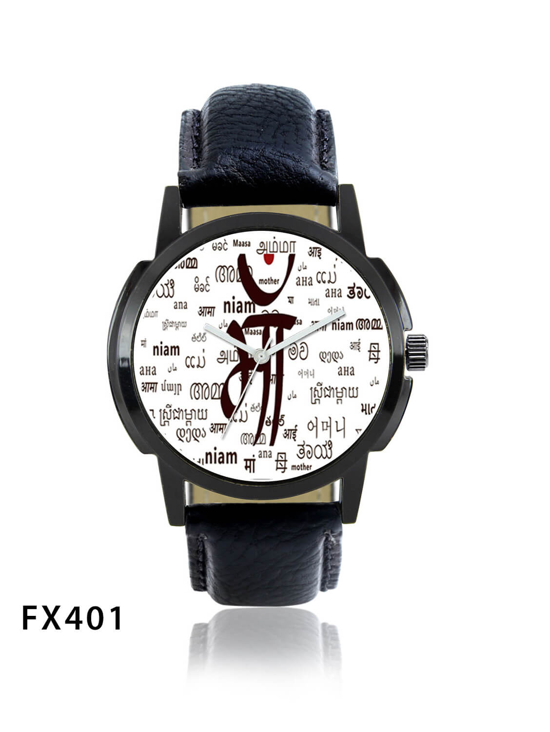 FX401 Black Band Mens Watch
