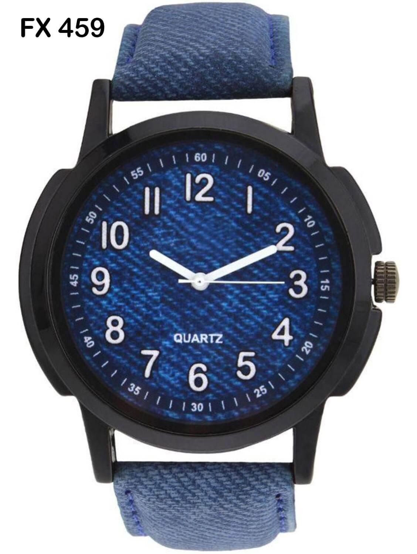 FX459 Blue Band Analogue Mens Watch