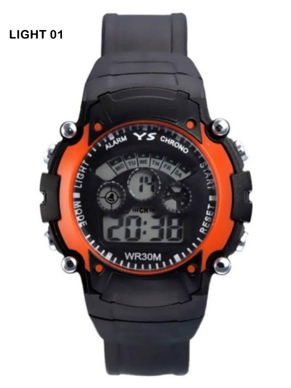 L01 Orange Dial Super excellent design Mens Watch