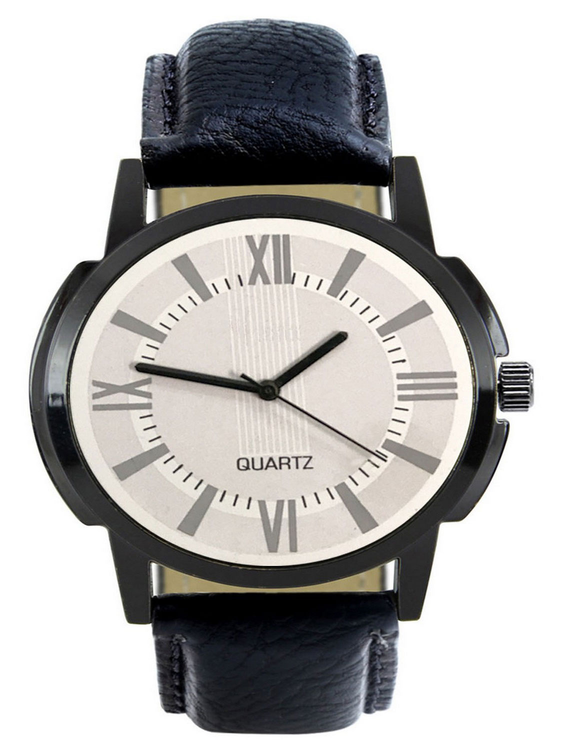 FX418 Black Band Analogue Mens Watch