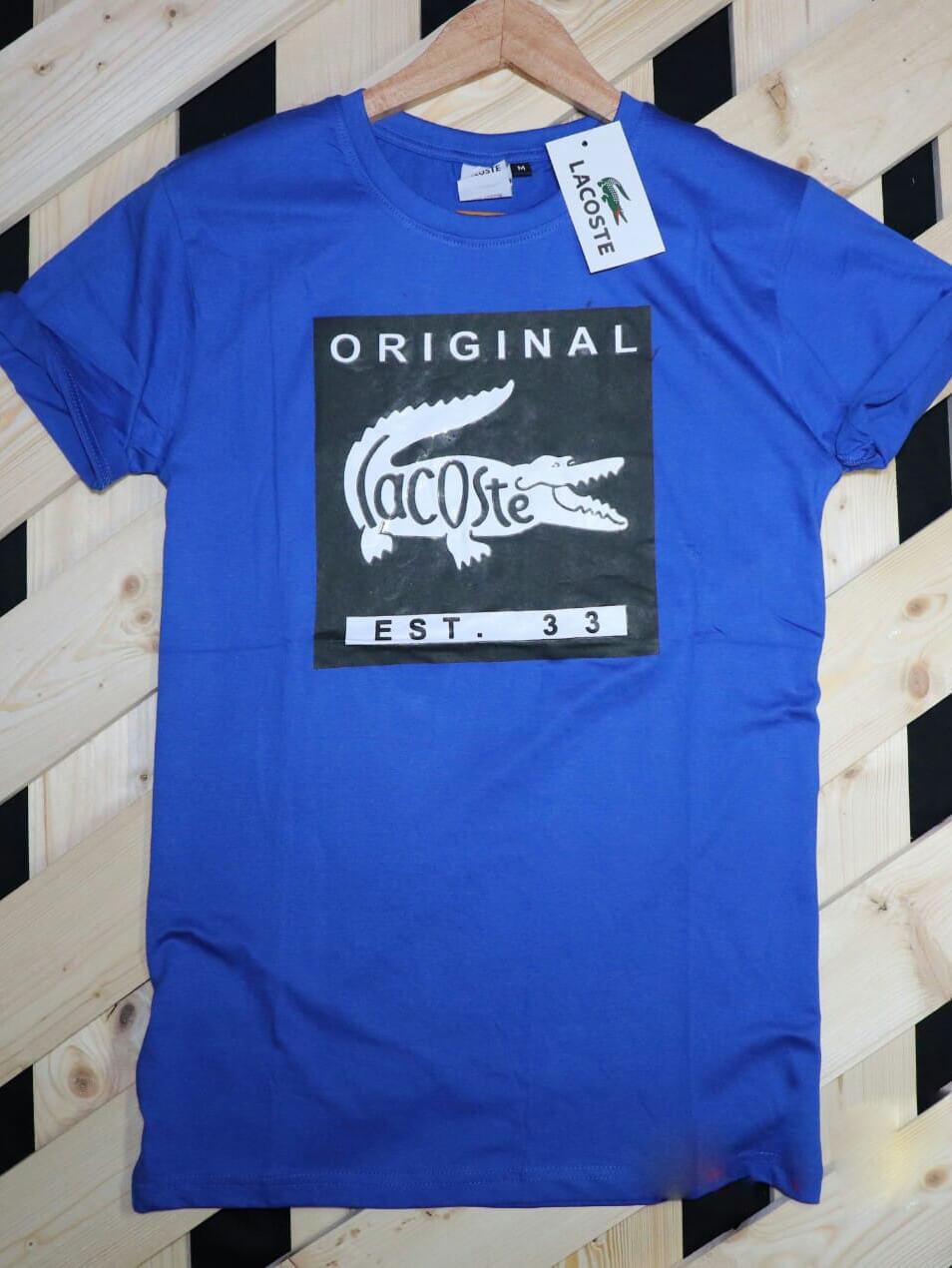 R1005TSHIRT Men's Round Neck T Shirt Half Sleeve