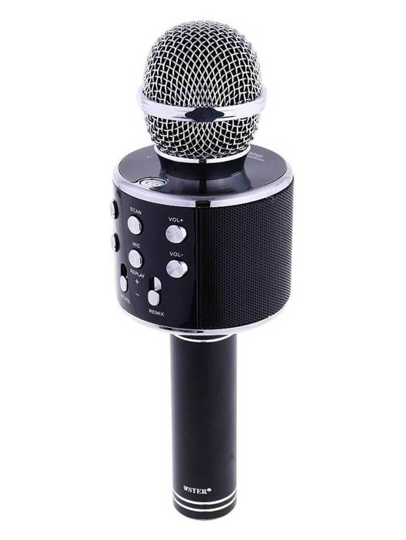Wireless Bluetooth Microphone Audio Recording for Cellphone Karaoke Mike for iPhone; Android