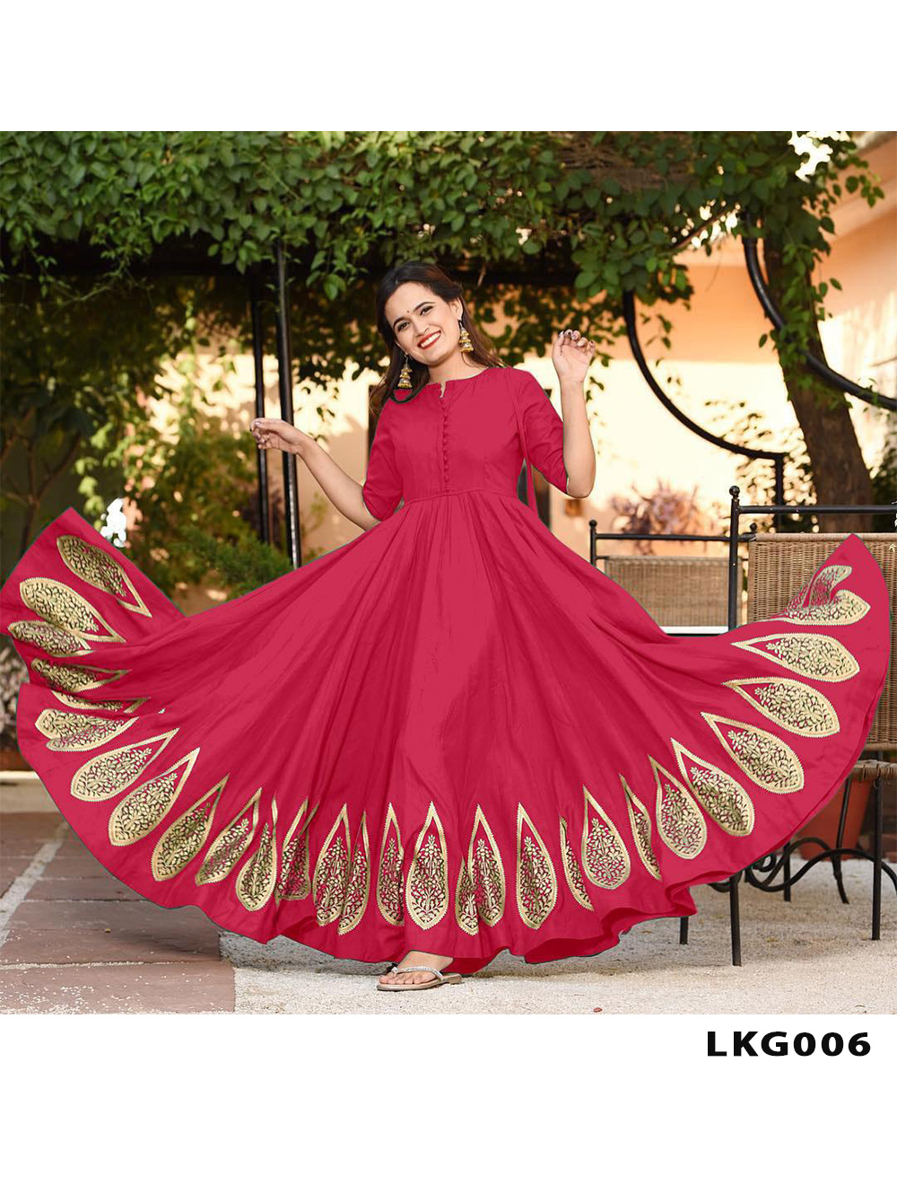 LGK006 Long Gown Style Kurti Collection