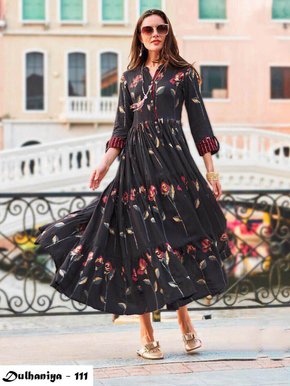 111 Exclusive Designer  Anarkali Style Kurti Collection