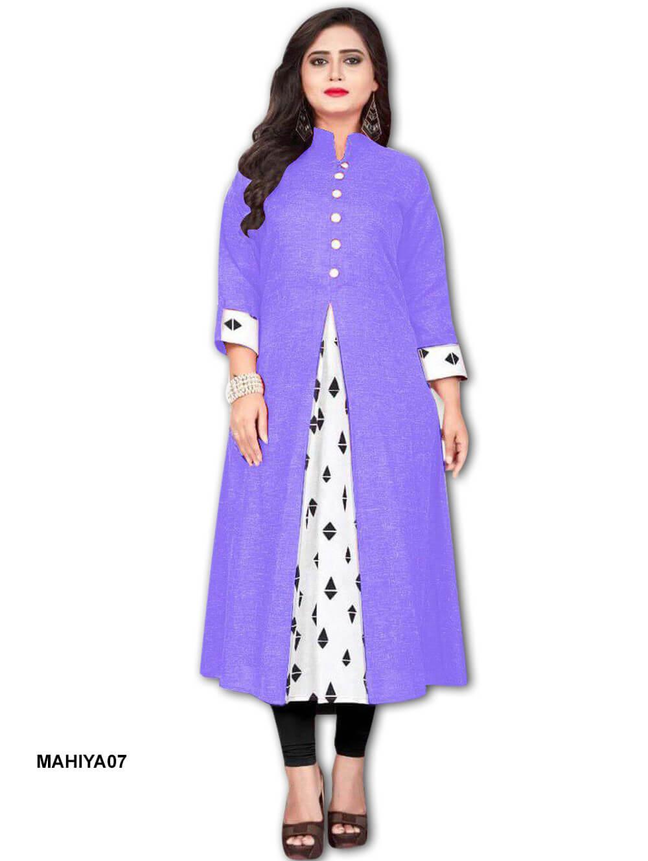 M07 Mahiya Khadi Cotton Kurti Collection