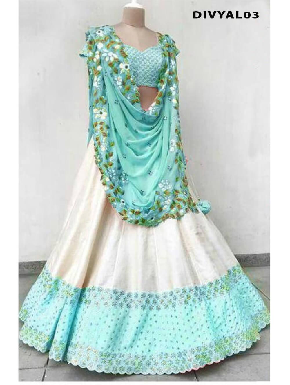 DIVYAL003 Banglory Silk Designer Lehenga