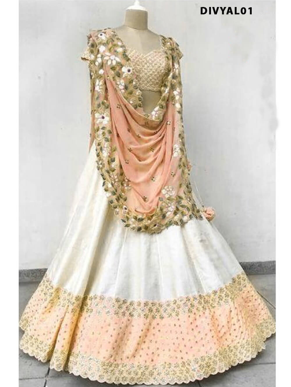 DIVYAL001 Banglory Silk Designer Lehenga