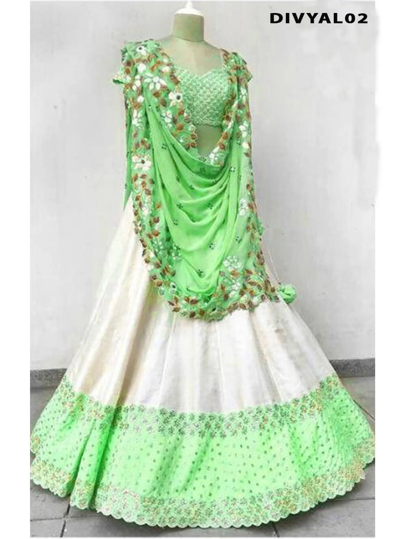 DIVYAL002 Banglory Silk Designer Lehenga