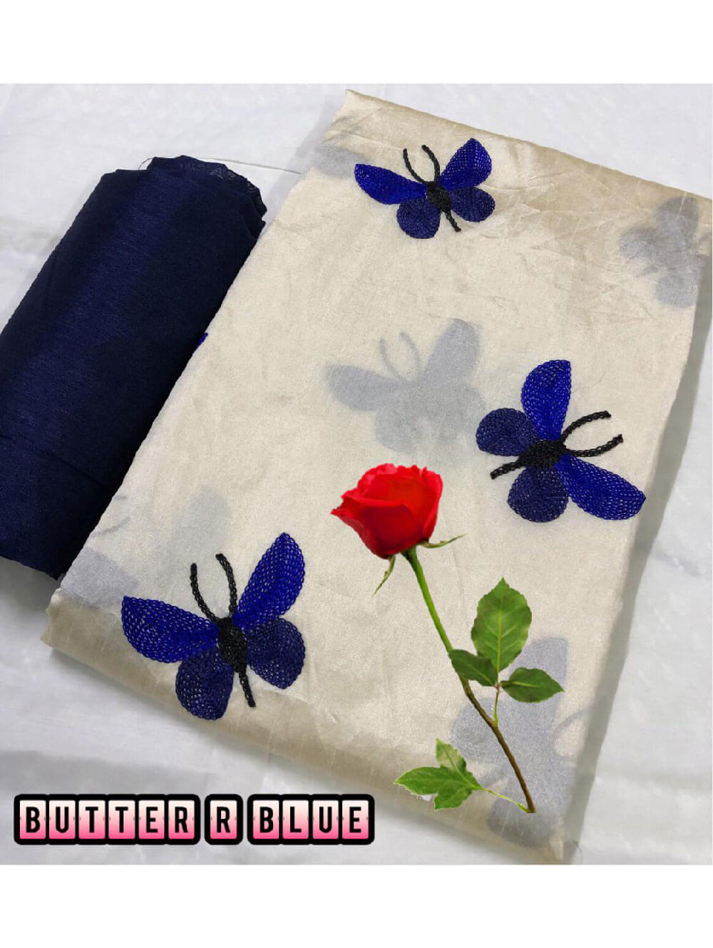 Zarna003  Butterfly Silk Cotton Saree Collection