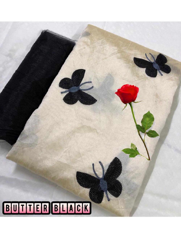 Zarna002  Butterfly Silk Cotton Saree Collection