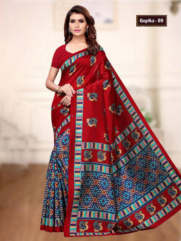 GOPIKA09 Gopika Mysore Designer Silk Saree Collection