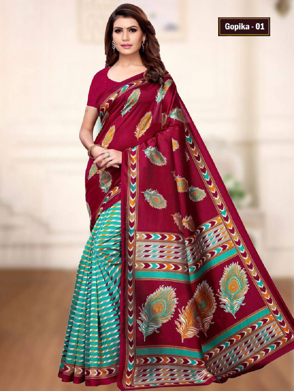 GOPIKA01 Gopika Mysore Designer Silk Saree Collection