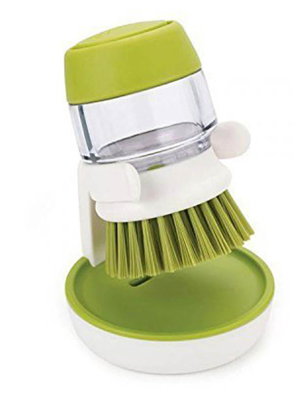 Mess Cleaning Brush with Liquid Soap Dispenser 180 ml Soap Dispenser