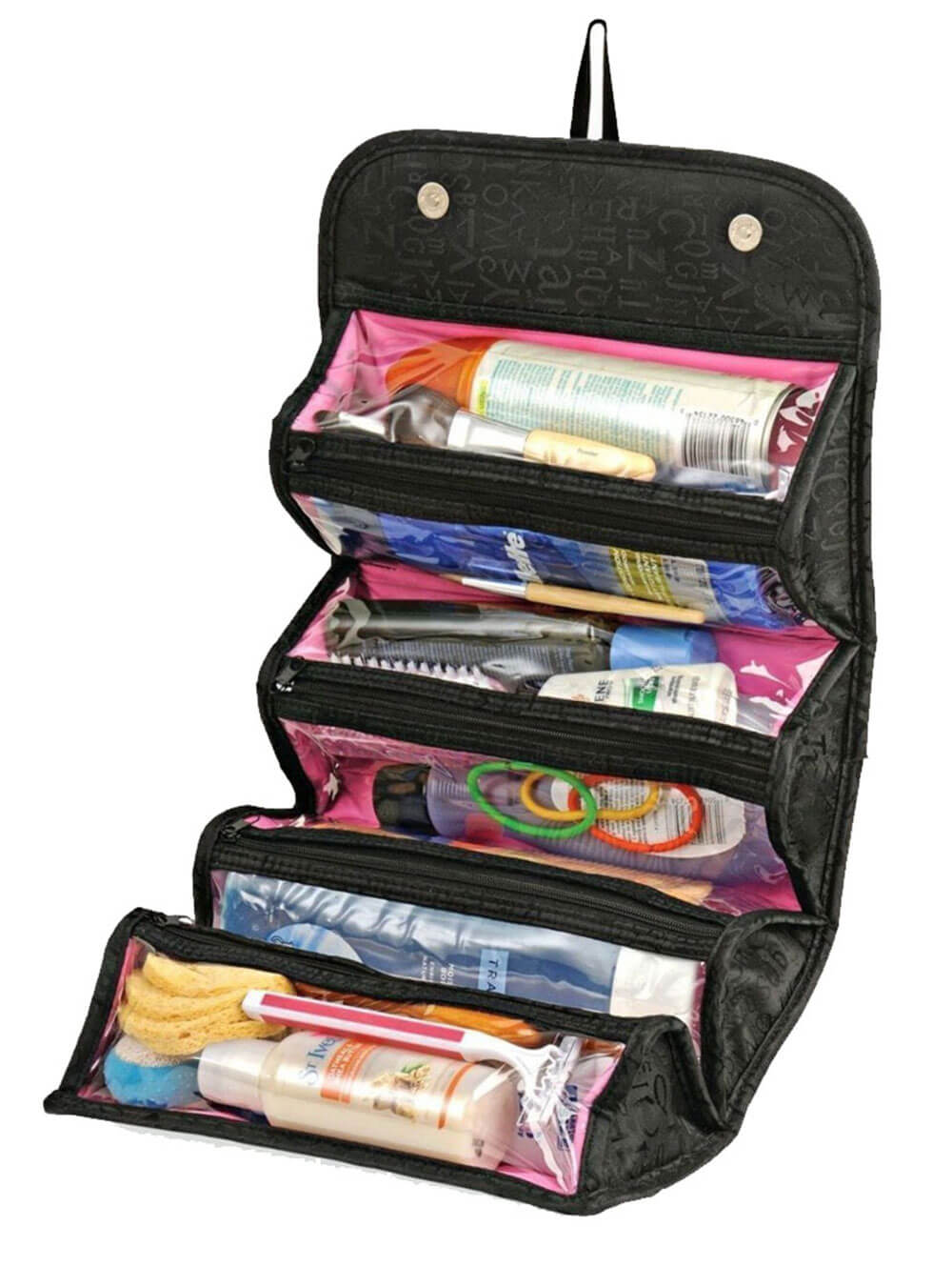 Roll N Go Cosmetic Organiser Travel Toiletry Kit Travel Toiletry Kit