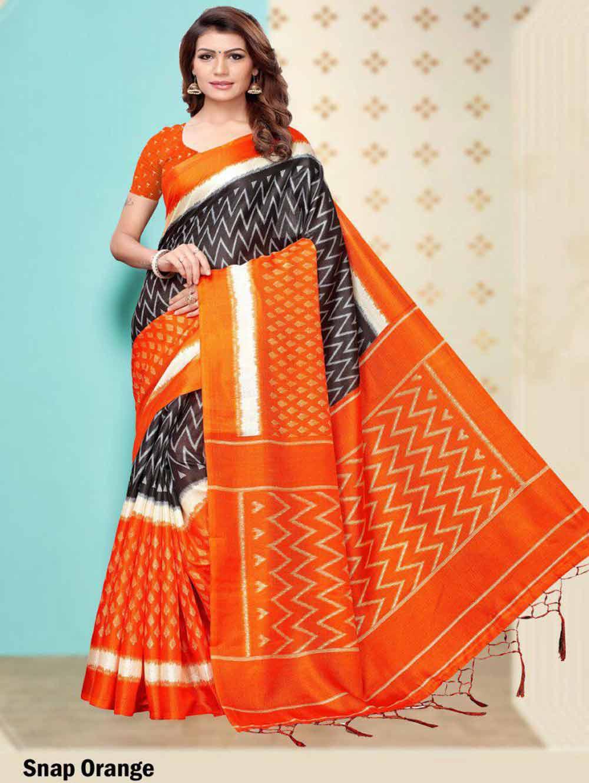 SAREE007 Insta Khadi Silk Designer Saree Collection