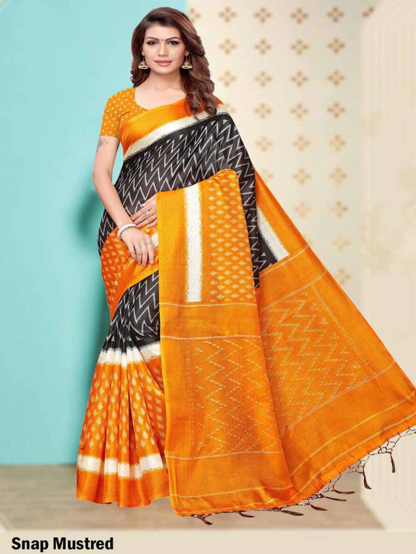 SAREE005 Insta Khadi Silk Designer Saree Collection