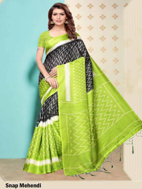 SAREE004 Insta Khadi Silk Designer Saree Collection