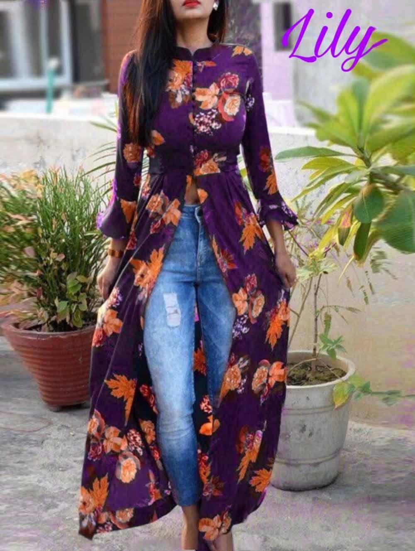 K004 Lily Flex Cotton Long Kurti Collection